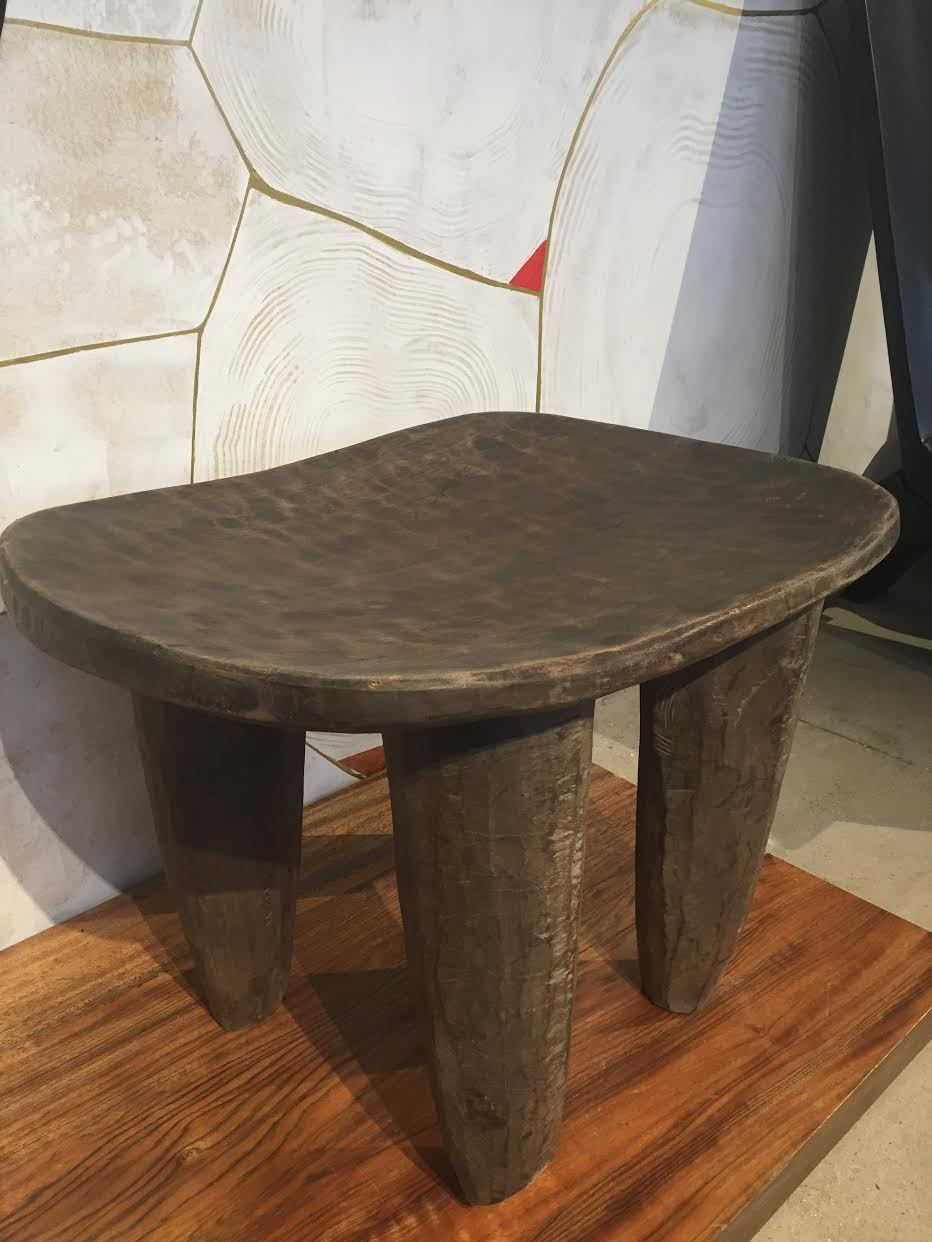 Charitybuzz african senufo stool from furniture designer for African american furniture designers