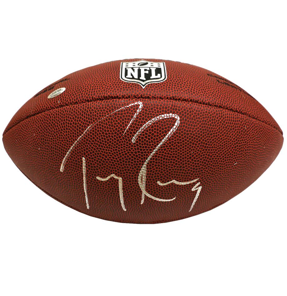 check out 3cc83 885ce Dallas Cowboys Tony Romo Signed NFL Football