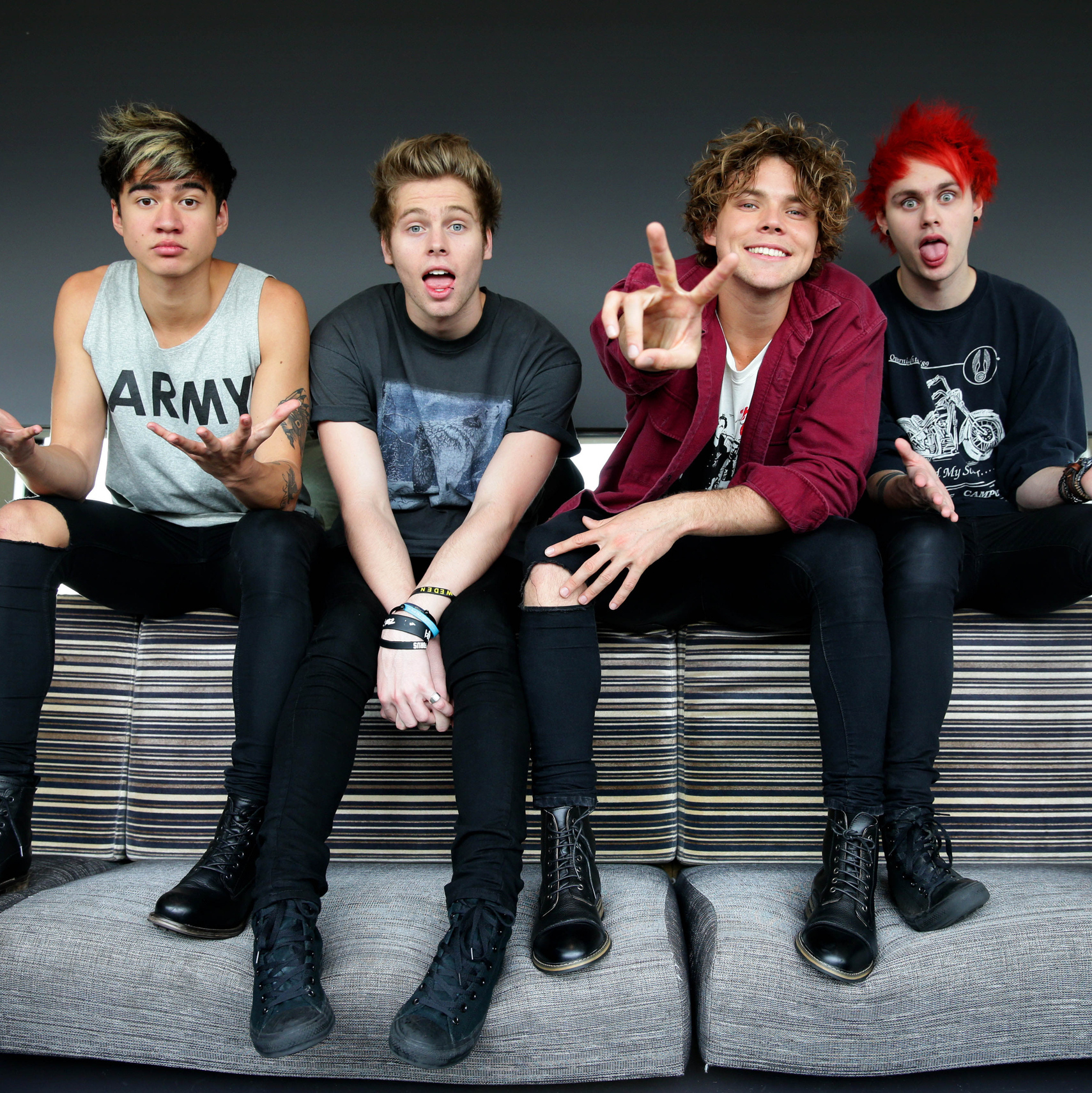 Charitybuzz 5 Seconds Of Summer Vip Show And Soundcheck Experience