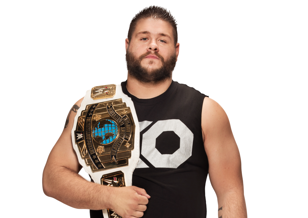 Good news for Kevin Owens he beat Braun Strowman at Extreme Rules! The bad news He won after Strowman threw him off the cage and into an announcers table