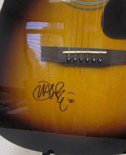 charitybuzz john mayer autographed guitar lot 221325. Black Bedroom Furniture Sets. Home Design Ideas