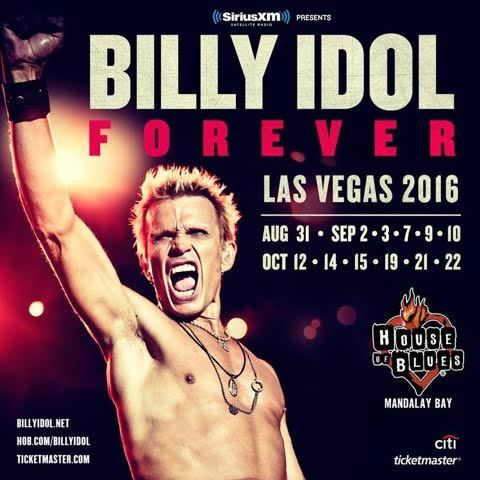 Charitybuzz meet billy idol and steve stevens with 2 tickets to original m4hsunfo