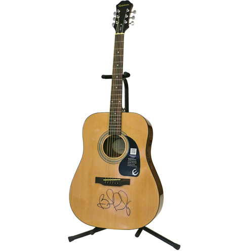 charitybuzz brad paisley signed acoustic guitar lot 1014901. Black Bedroom Furniture Sets. Home Design Ideas