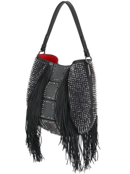 cca9e9a8bef Lucky L Hobo Fringes Handbag by Christian Louboutin ... - Charitybuzz