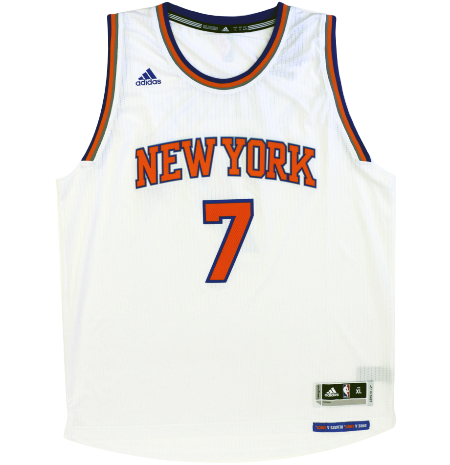 promo code b05fb 83674 Charitybuzz: Autographed Carmelo Anthony Jersey &amp ...
