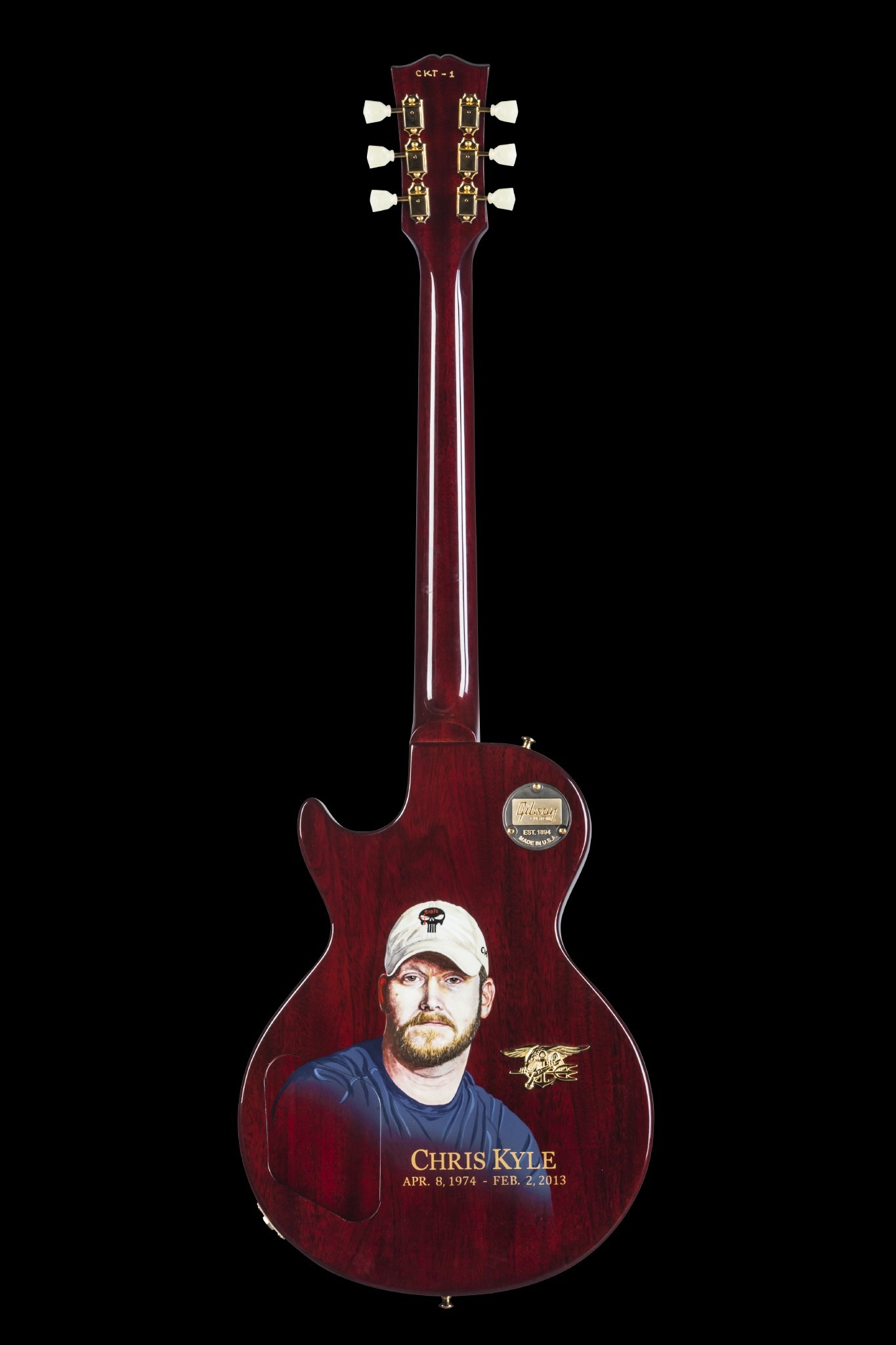Charitybuzz: One-of-a-Kind Gibson Les Paul, Created for the
