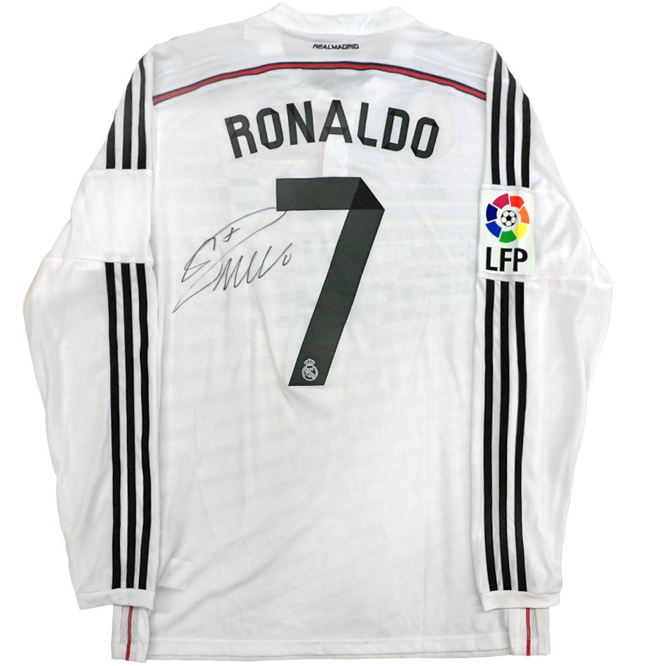 Charitybuzz Cristiano Ronaldo Autographed Real Madrid Jersey Lot 1042500