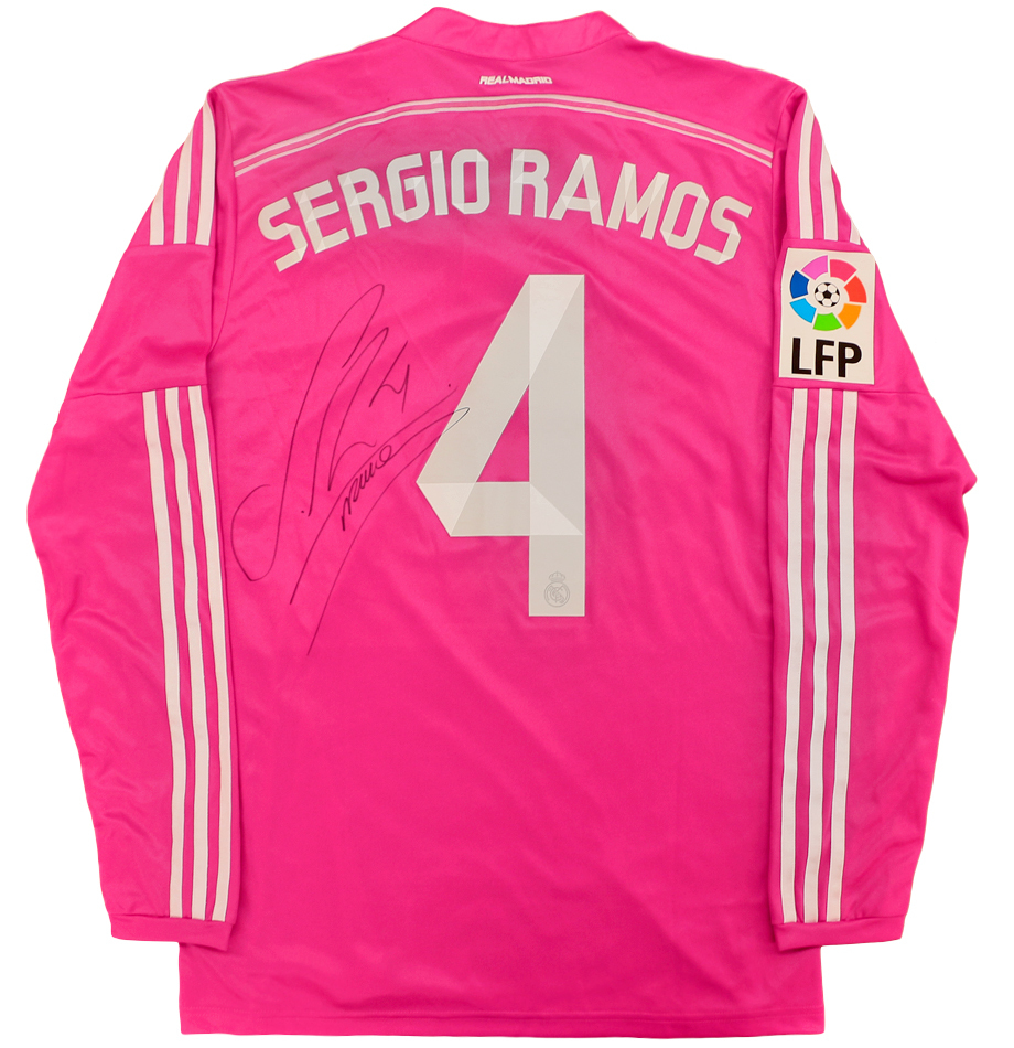 innovative design 16d36 4a0b8 Sergio Ramos Autographed Real Madrid Jersey ... - Charitybuzz
