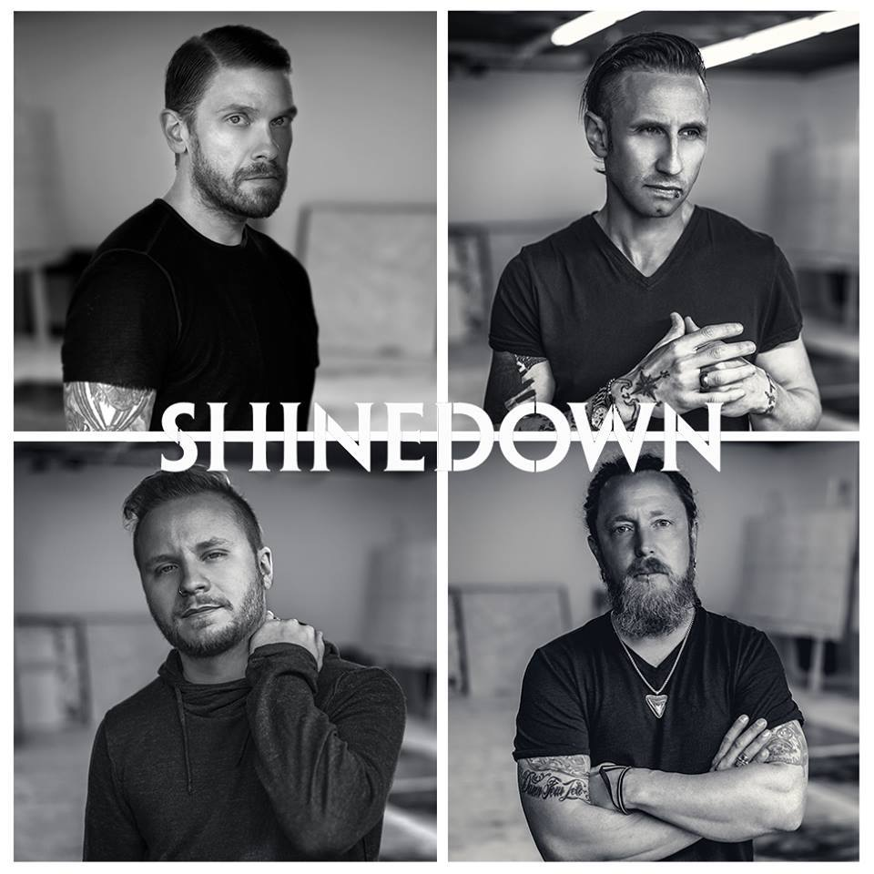Charitybuzz Meet Shinedown Ampamp Receive 2 Vip Tickets To The