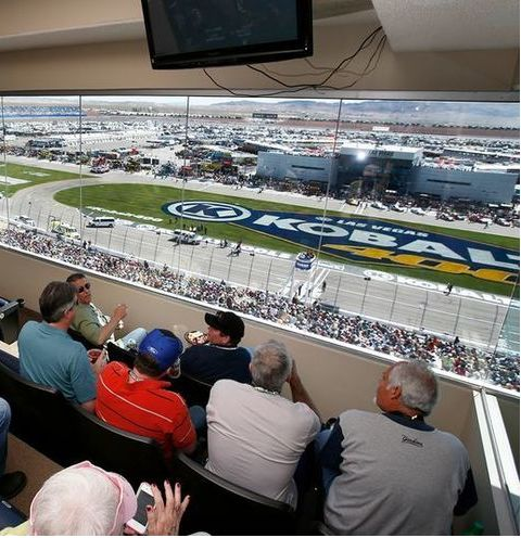 Charitybuzz vip nascar experience for 48 people at the Nascar experience las vegas motor speedway