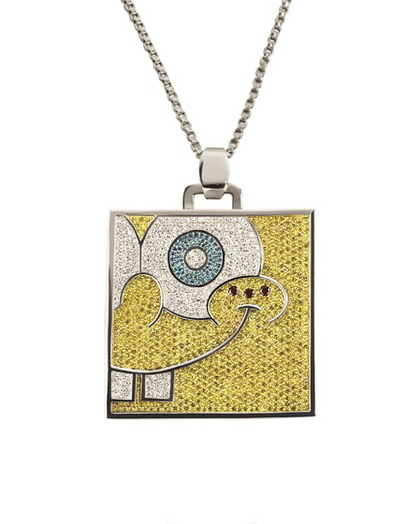 583cee4cb3535 Charitybuzz: Exclusive SpongeBob SquarePants Bling Pendant from ...