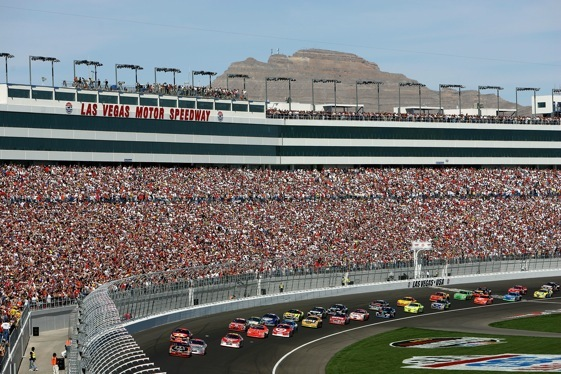 Charitybuzz attend the nascar sprint cup series with 2 for Nascar experience las vegas motor speedway