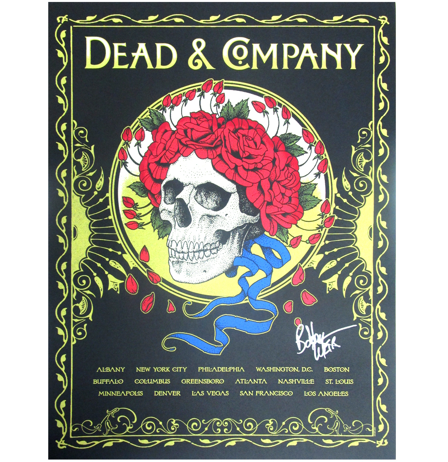 Dead Company Fall Tour : charitybuzz 2015 dead company fall tour poster signed by bob weir lot 1203501 ~ Hamham.info Haus und Dekorationen
