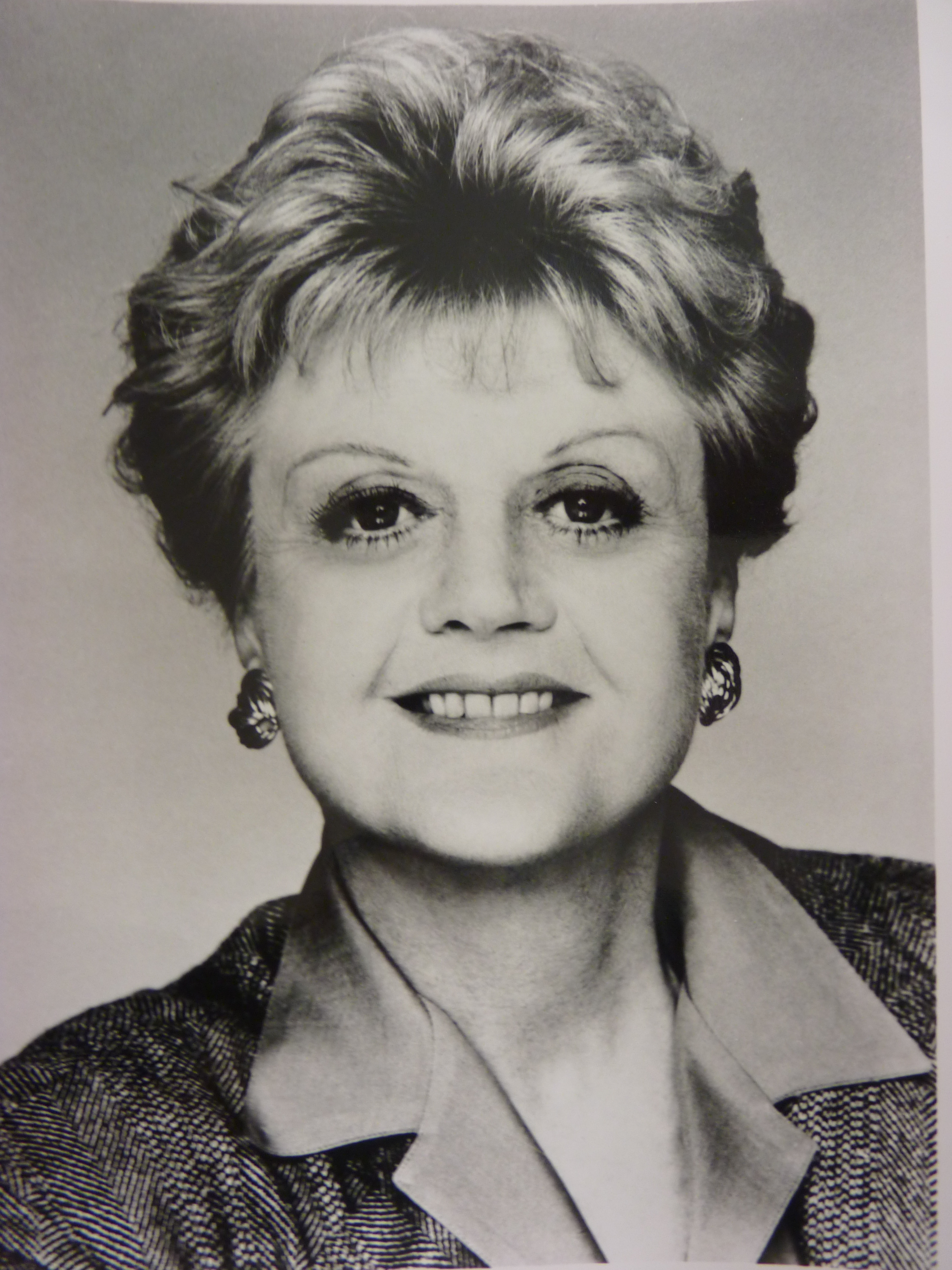 an angela lansbury autographed script from  - charitybuzz