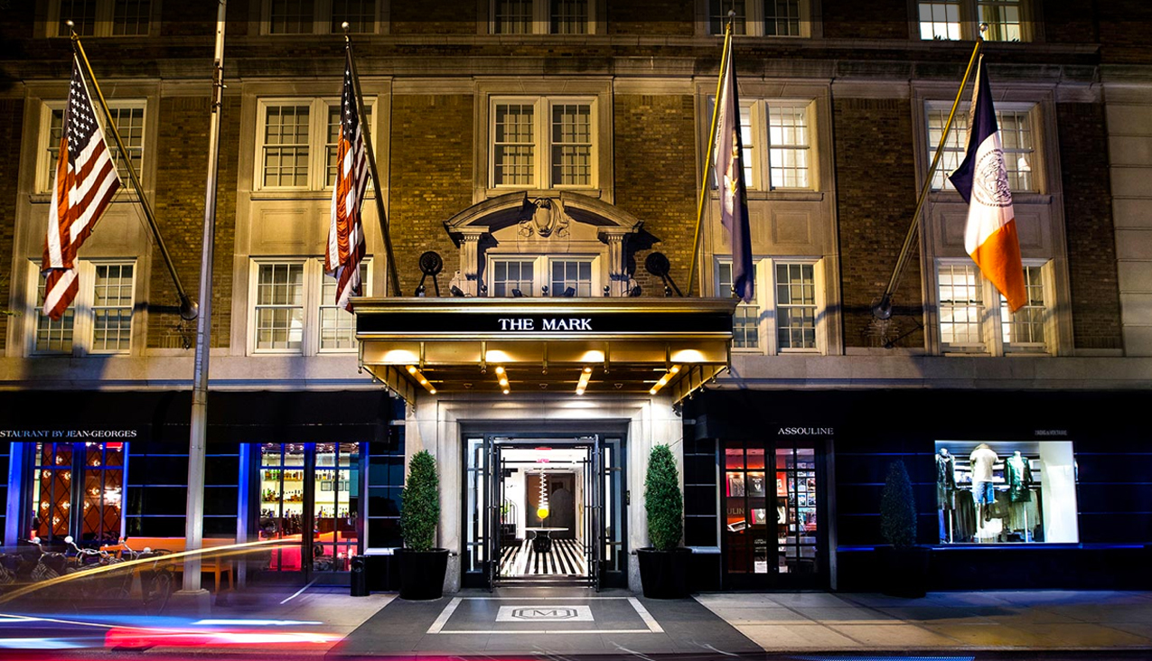 charitybuzz 3 night stay at the mark hotel in new york lot 1218412. Black Bedroom Furniture Sets. Home Design Ideas