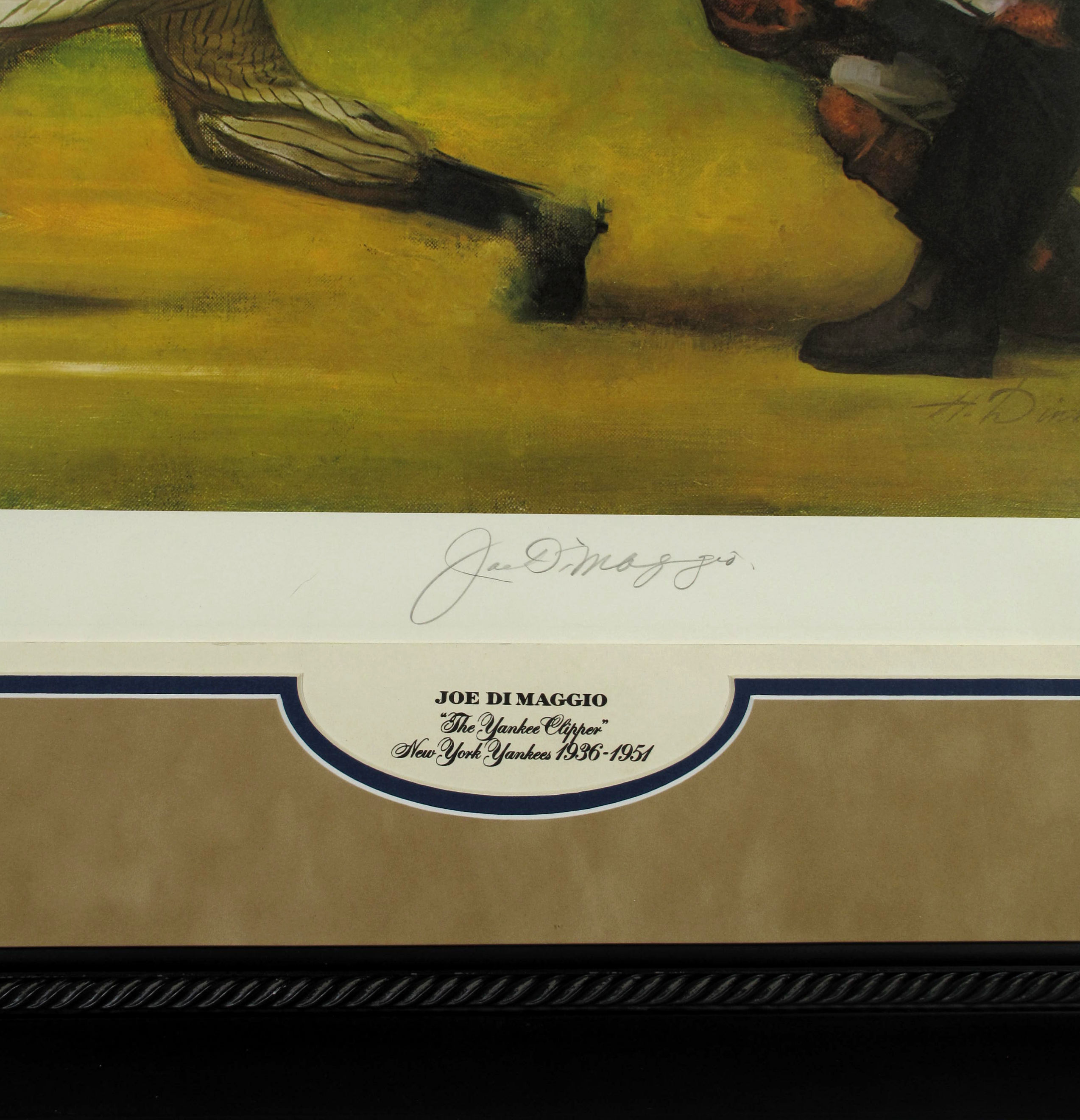 Charitybuzz: The Wide Swing, Joe DiMaggio Signed & Numbered Limited ...
