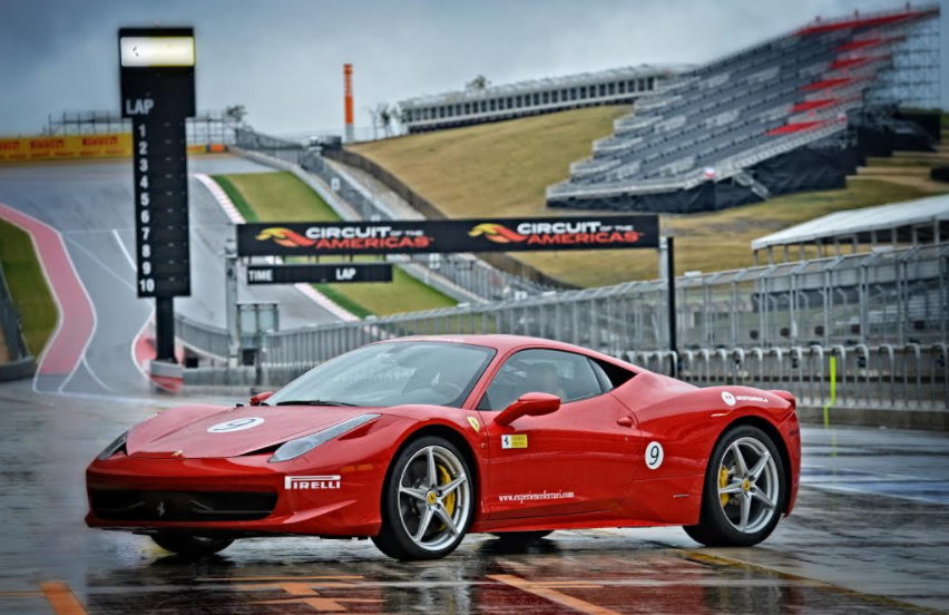 charitybuzz 2 day race track driving school at ferrari. Black Bedroom Furniture Sets. Home Design Ideas