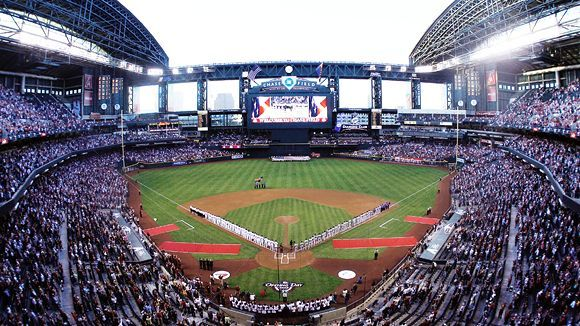 Charitybuzz Tour Chase Field With 4 Dugout Tickets To An