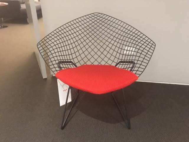 Charitybuzz: Bertoia Diamond Chair