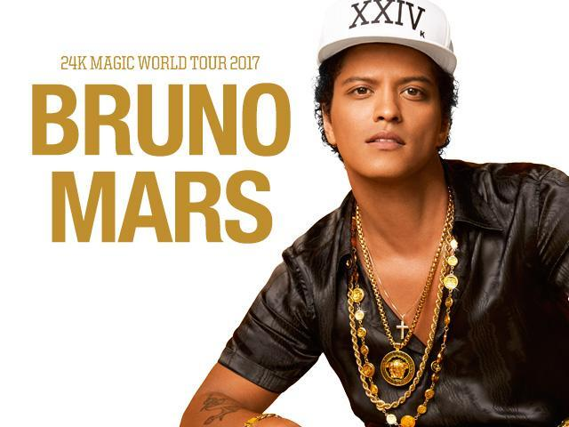 charitybuzz 2 tickets to see bruno mars on october 4 at barclays center lot 1307208. Black Bedroom Furniture Sets. Home Design Ideas