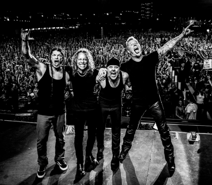 Charitybuzz meet metallica with the vip hardwired experience for a original m4hsunfo