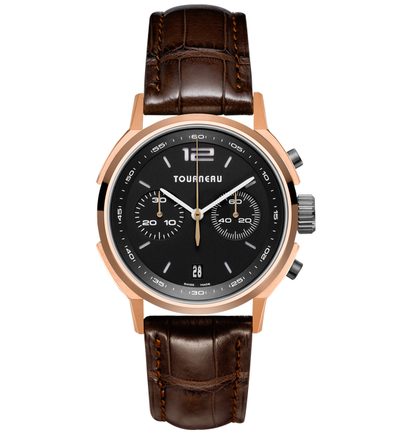 Charitybuzz: Men's Tourneau TNY Series 40 Chrono Automatic