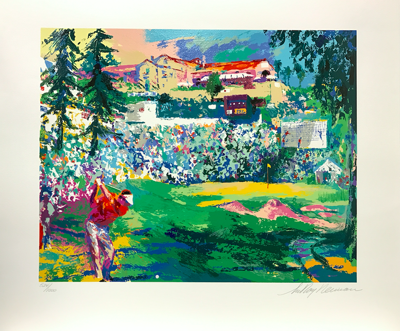 charitybuzz the golf suite 1992 leroy neiman signed and numbered lim lot 1396100. Black Bedroom Furniture Sets. Home Design Ideas
