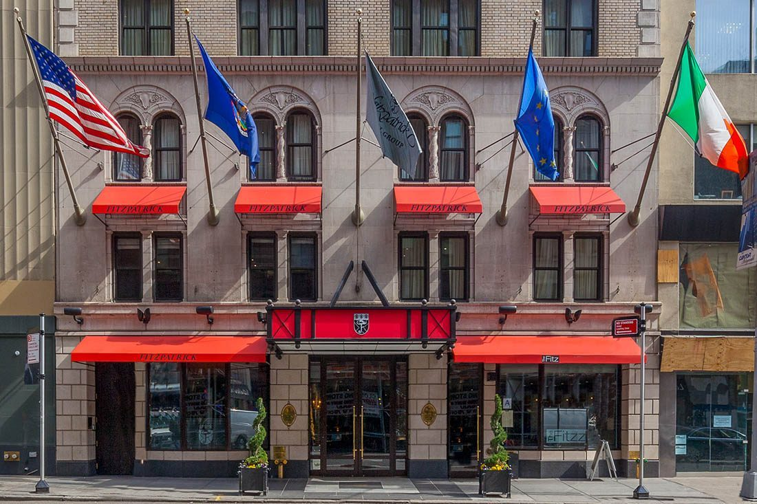 Charitybuzz Nyc Experience 1 Night At The Fitzpatrick Hotel 2 Vip