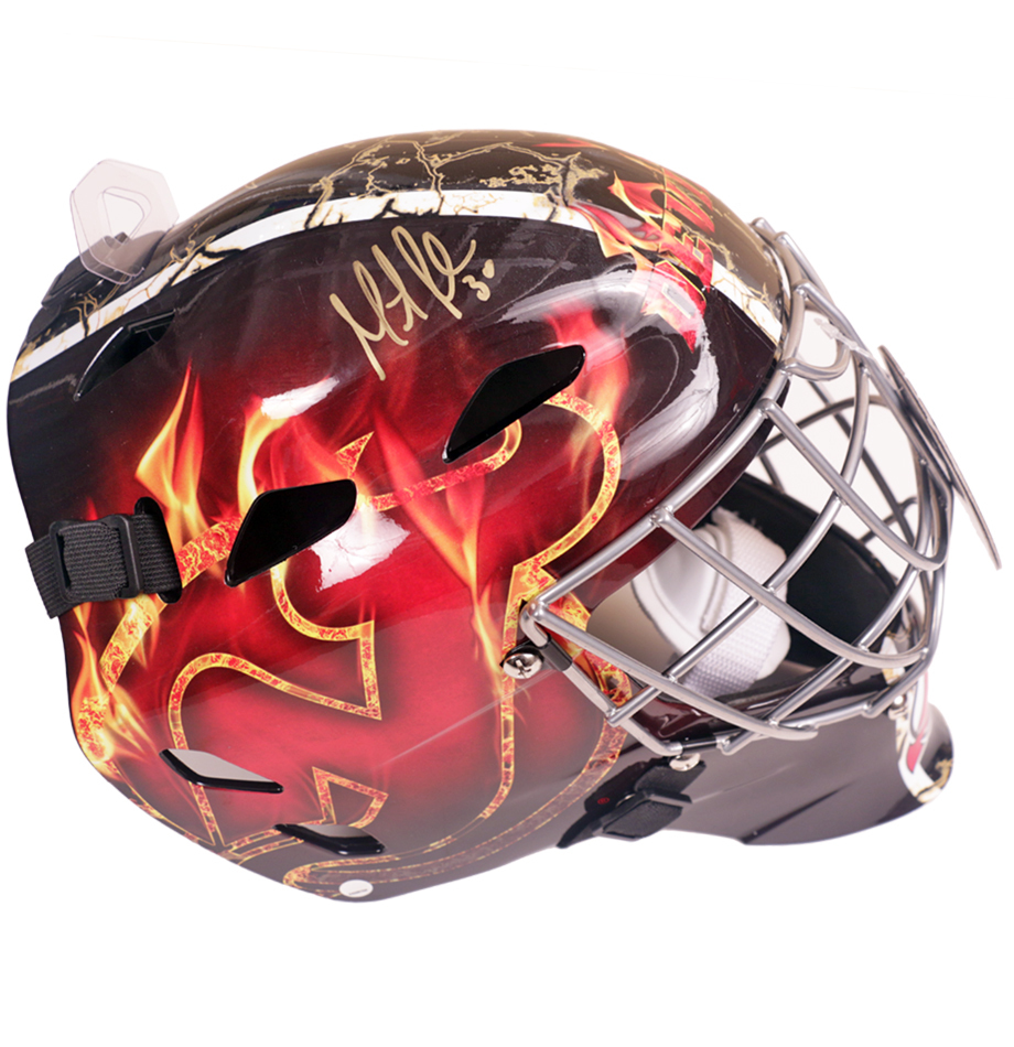 Martin Brodeur Signed New Jersey Devils Goalie Mask Charitybuzz