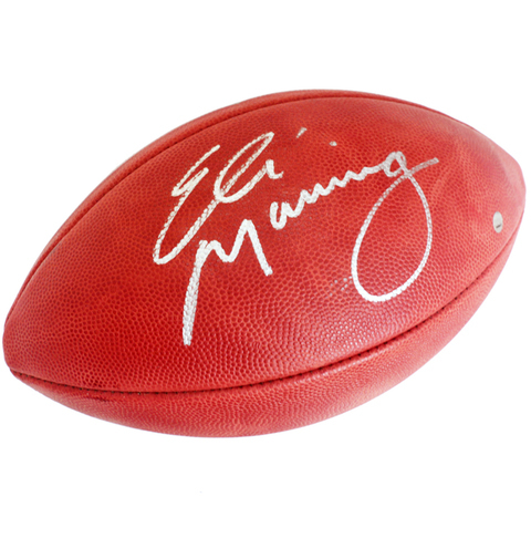 Charitybuzz Eli Manning Signed Football Lot 1404109
