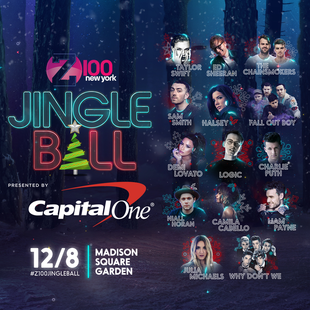 Charitybuzz 2 Tickets To 2017 Z100 Jingle Ball In Nyc On December 8 P Lot 1414400