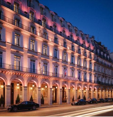 Charitybuzz 2 Night Stay For 2 At The H Tel Le Meurice In
