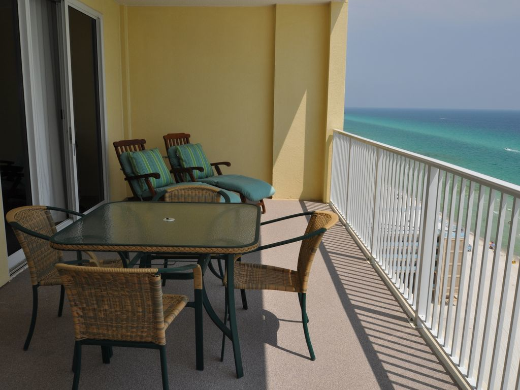 Charitybuzz 1 week stay in a 2 bedroom beachfront condo - Two bedroom condo panama city beach ...
