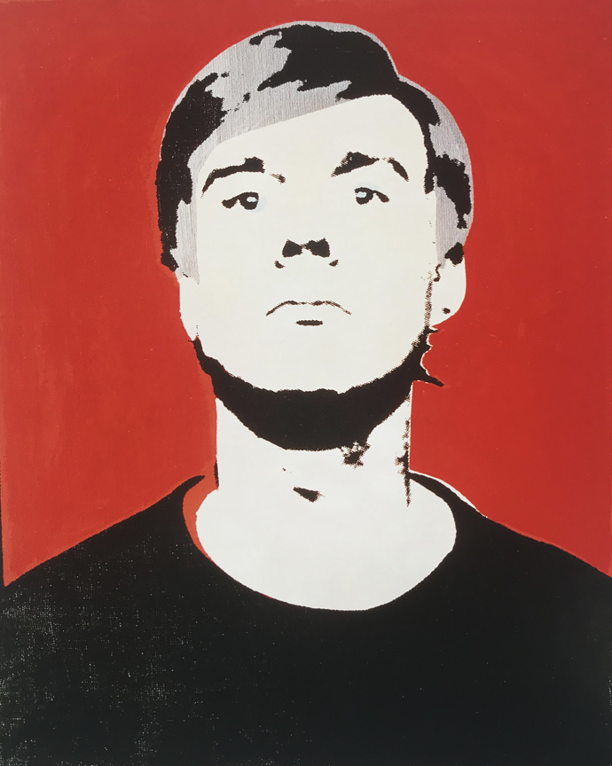 06e38f747f806 1964 Self Portrait by Andy Warhol - Lot 1438200 - Charitybuzz