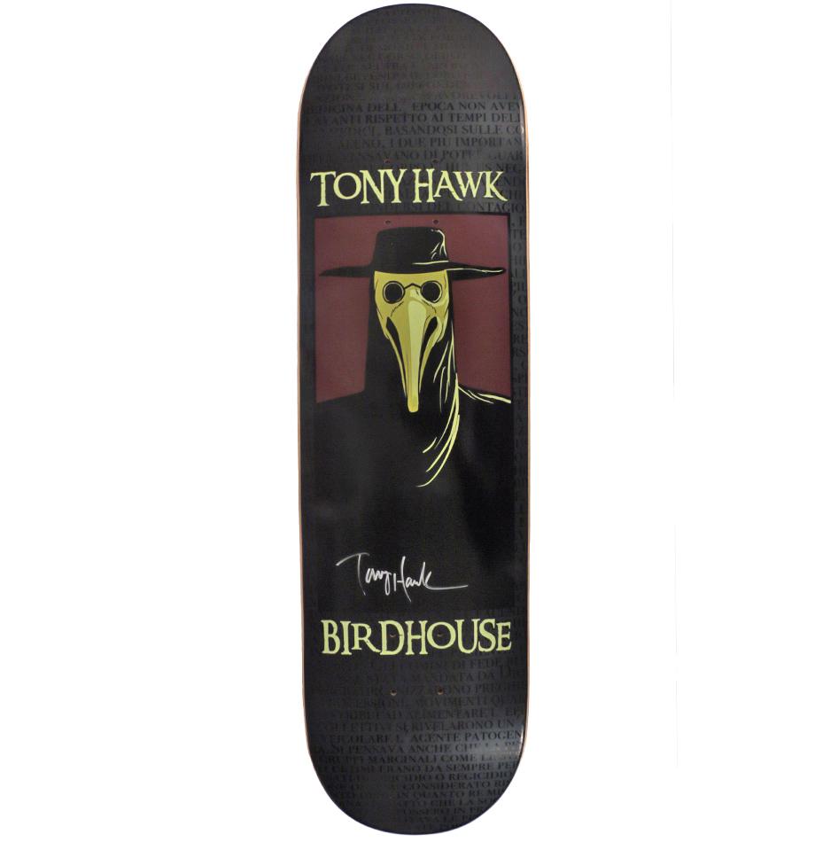 Charitybuzz Tony Hawk Authentic Autographed Birdhouse