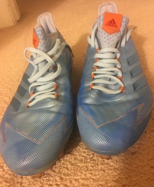 Charitybuzz: Tommy Pham Game Worn Autographed Blue Cleats