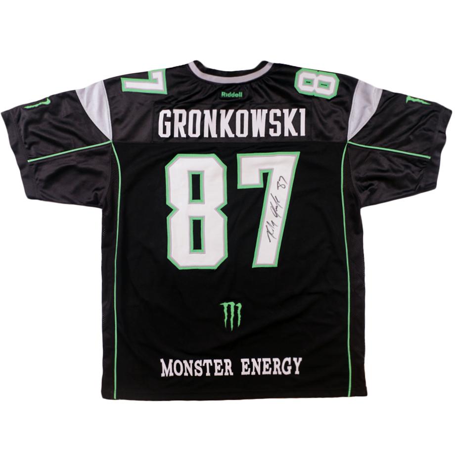 gronkowski military jersey