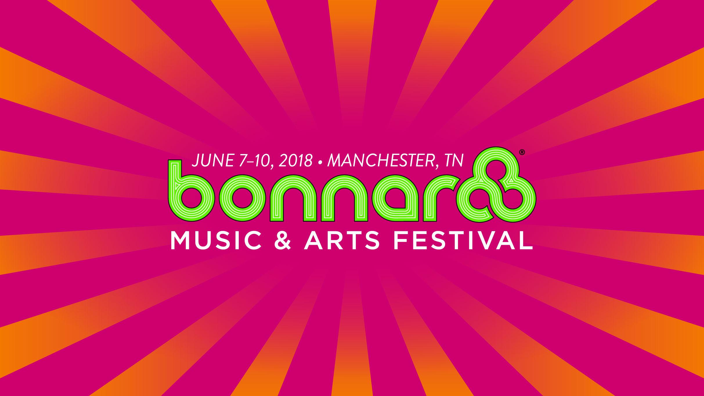 Charitybuzz 2 vip tickets to bonnaroo 2018 in manchester tn on original m4hsunfo Gallery