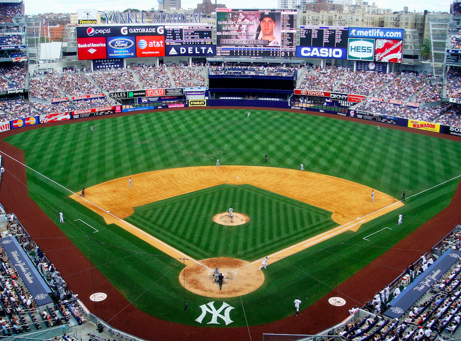 Charitybuzz: 4 Legend Seats at the Yankees vs. Toronto Game on April ...