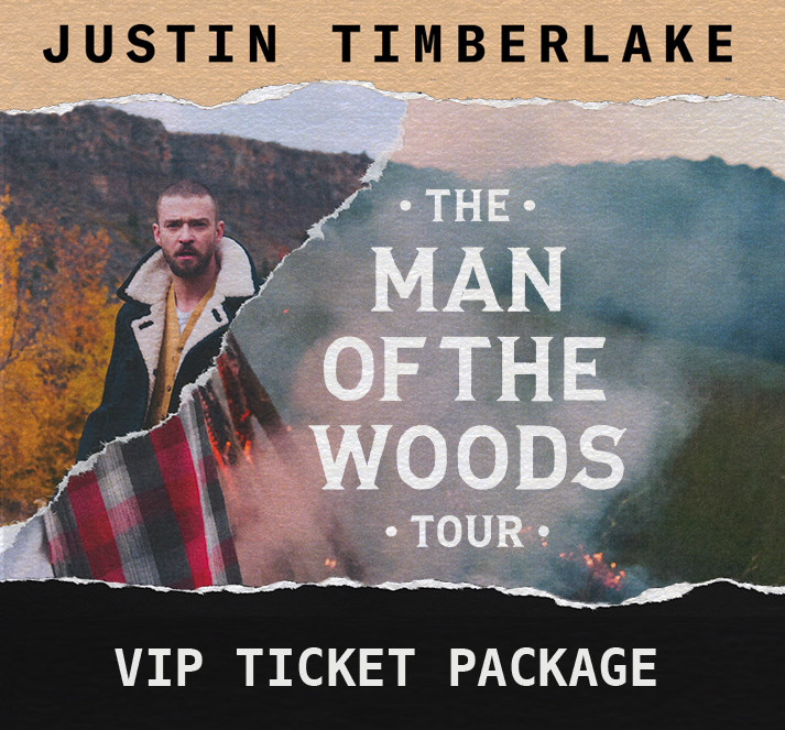 Charitybuzz 2 vip tickets to justin timberlakes man of the woods original m4hsunfo