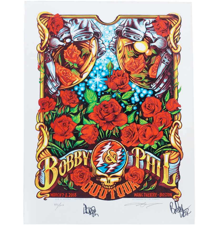 eb733a199fce Charitybuzz  Limited-Edition Bobby  amp amp  Phil Duo Tour Poster ...