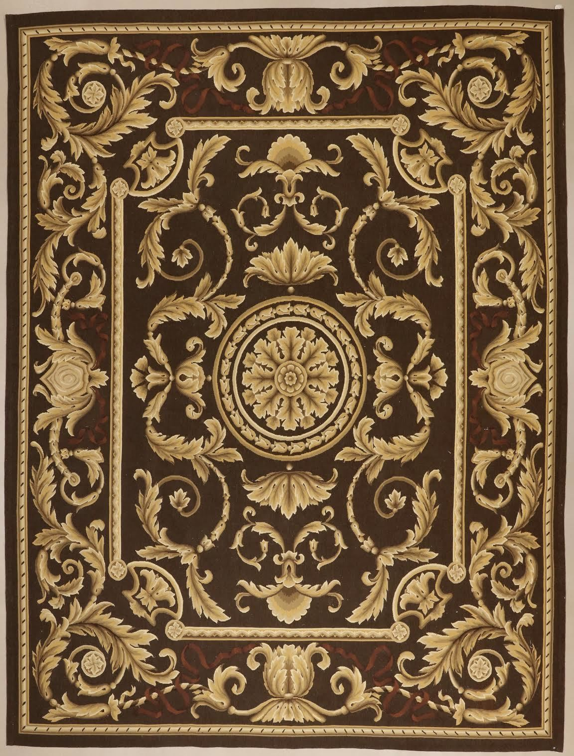 Aubusson Hand Woven Wool Rug Tapestry Charitybuzz