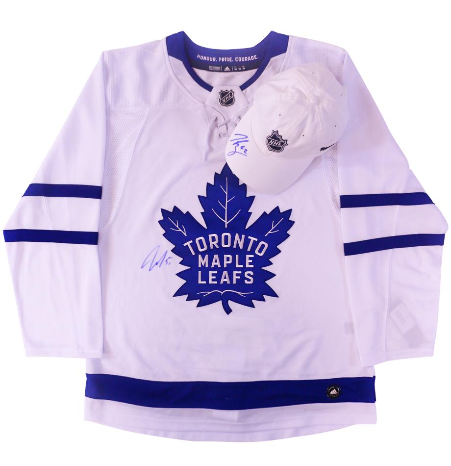 4b95cd35b Charitybuzz  Toronto Maple Leafs Signed Jersey by Jake Gardiner  amp ...