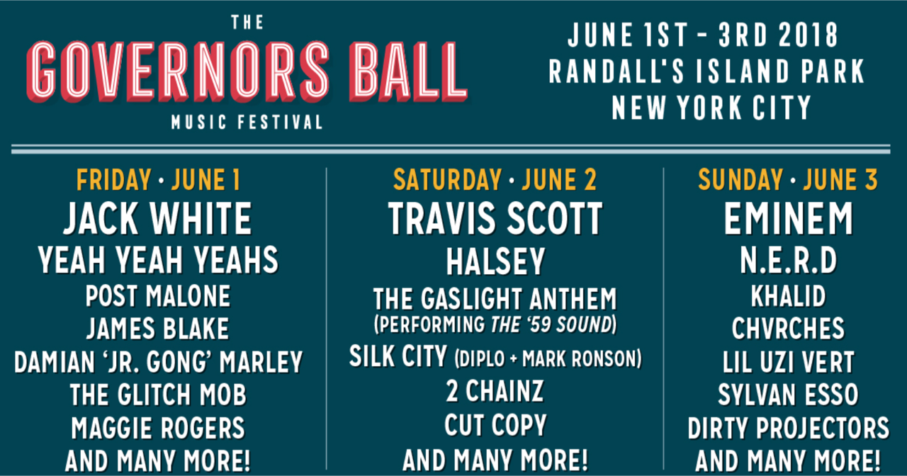 Charitybuzz 2 Vip Tickets To All 3 Days Of The Governors Ball Music