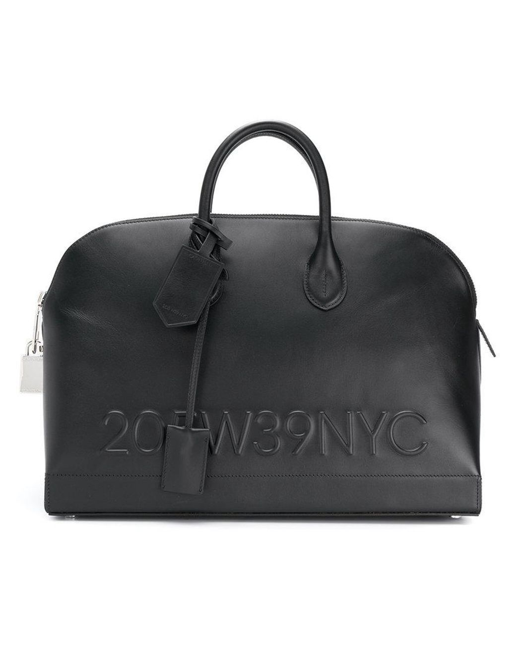 Calvin Klein 205W39nyc logo embossed tote bag Discount 2018 New Discount 100% Original Free Shipping Exclusive Finishline Cheap Price Slj2PM