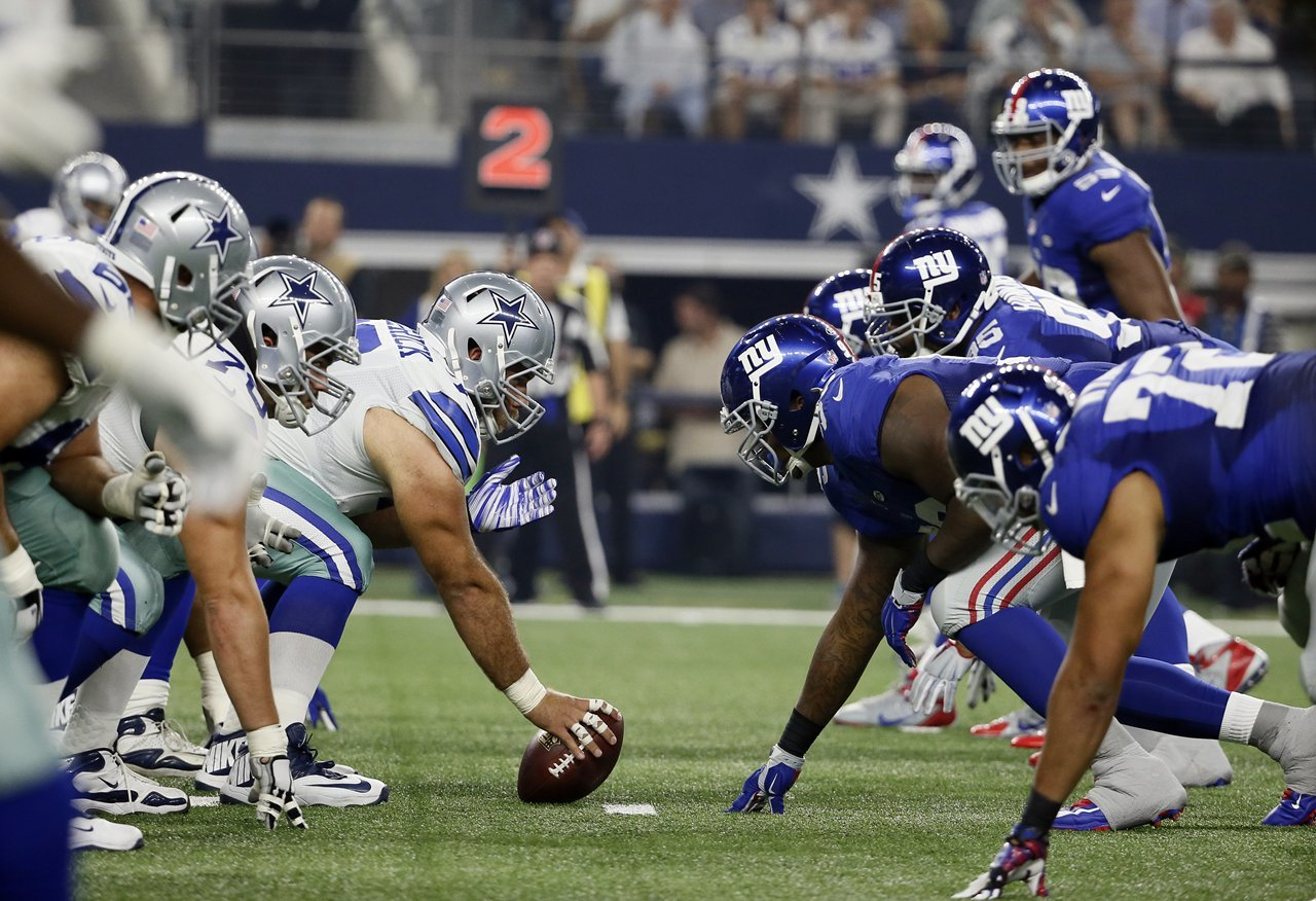 0b22b9859f3 2 Pre-Game On-Field Passes and Konica Minolta Suite Tickets to the NY Giants  vs Dallas Cowboys Game on November 4 at Metlife Stadium