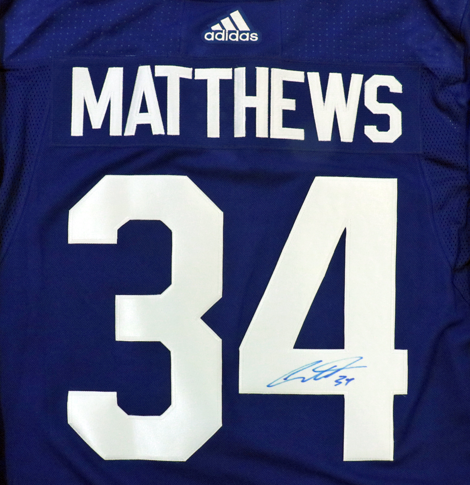 new product 4317b 0a2c9 Charitybuzz: Auston Matthews Signed Toronto Maple Leafs ...