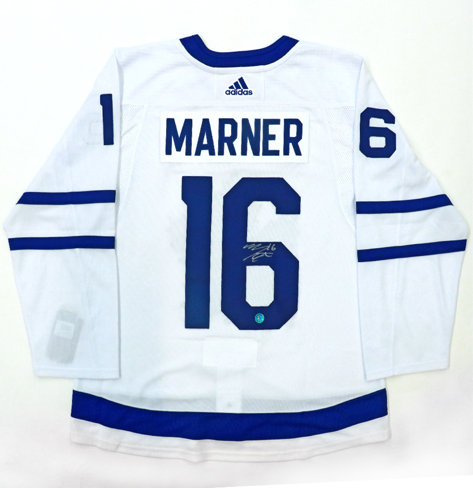 official photos 667ef 9ea67 Mitch Marner Autographed Toronto Maple Leafs ... - Charitybuzz