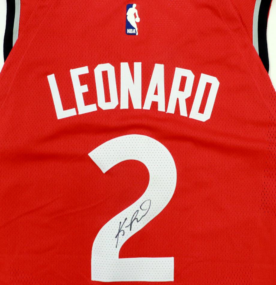 official photos dc66e adde8 Charitybuzz: Kawhi Leonard Autographed Toronto Raptors ...