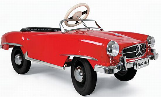 Charitybuzz mercedes benz 190sl pedal car for children for Mercedes benz for kids